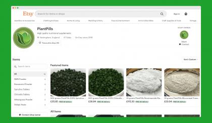 PlantPills on Etsy